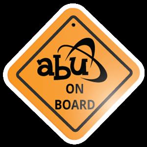 ABU On Board Metal Signs