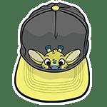 PeekABU Hat Giraffe