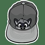 PeekABU Hat Raccoon