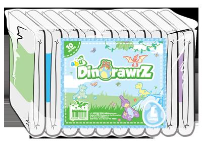 ABUniverse DinoRawrZ Diapers