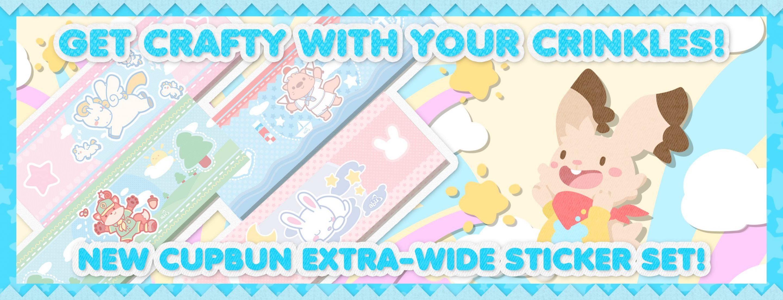 ABU Sticker Store Release CupBun