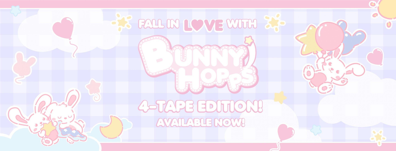 ABU BunnyHopps 4-Tape Release Banner